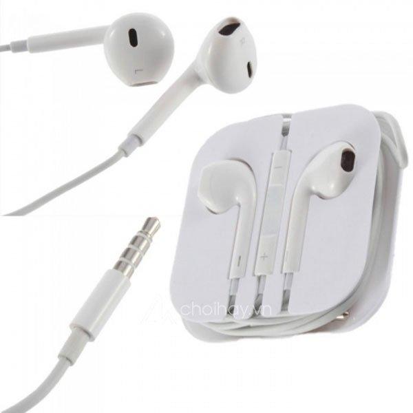 Tai nghe iPhone Zin 3.5mm chính hãng