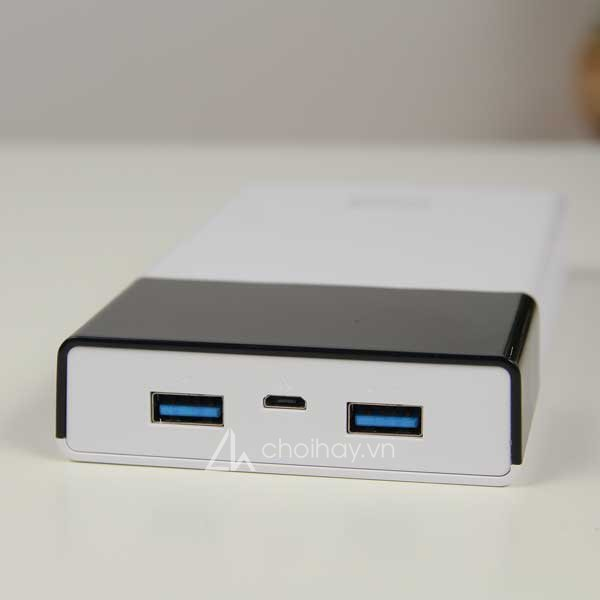 Pin sạc dự phòng AKUS LED16 QC 3.0 16000mAh