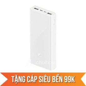 Pin sạc dự phòng Xiaomi Gen 3 20000mAh chính hãng