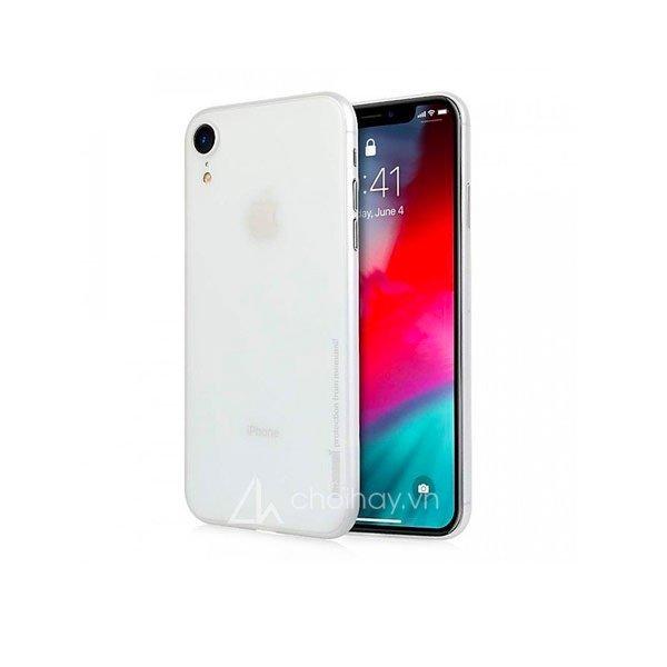 Ốp lưng siêu mỏng Memumi 0,3mm cho iPhone Xs/Xs Max/Xr