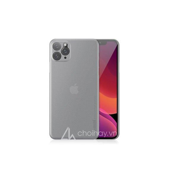 Ốp lưng siêu mỏng Memumi 0,3mm cho iPhone 11/ 11 Pro/ 11 Pro Max