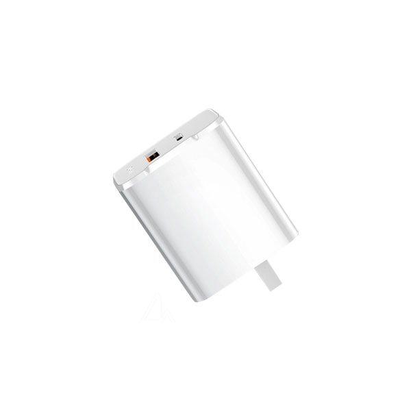 Củ sạc Benks dual PD 18W + Quick Charge 3.0 chính hãng
