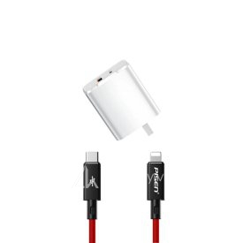 Bộ sạc Benks PD 18W Dual + Cable Type C to Lightning