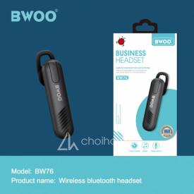 Tai nghe Bluetooth BWOO BW76 chính hãng